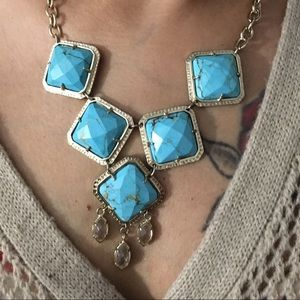 Kendra VINTAGE TURQUOISE NECKLACE